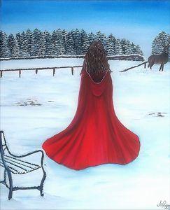 Still as Snow - Jo Priscott Art