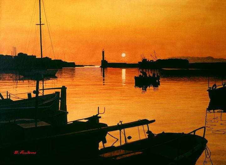Sunset - Gonalakis Art