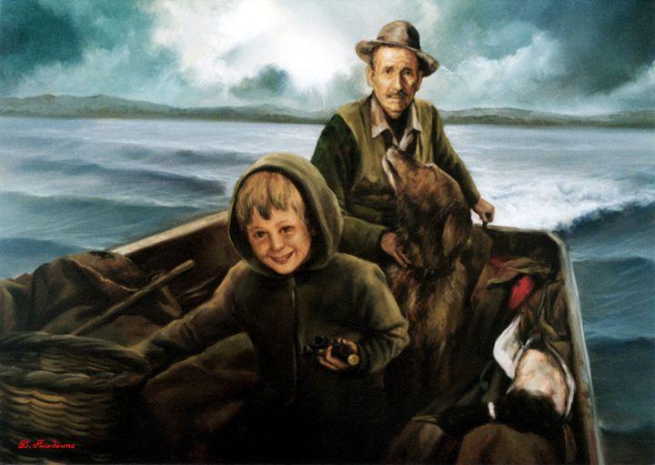 The Boat - Gonalakis Art