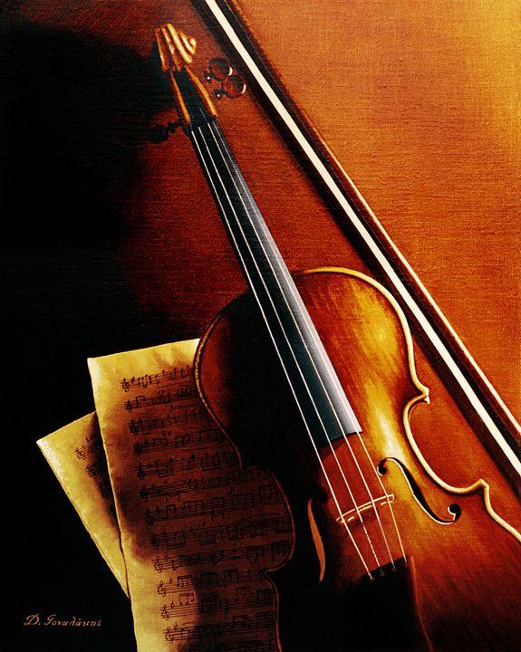 Violin - Gonalakis Art