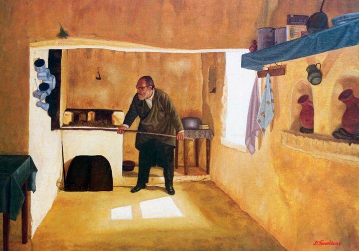 Making Bread - Gonalakis Art