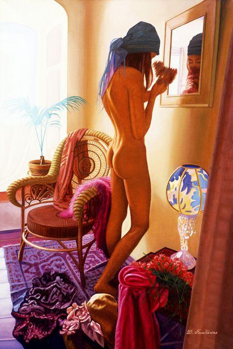 Girl in the Mirror - Gonalakis Art