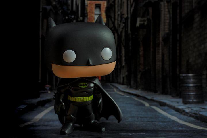Batman 1989 in street - David Fuentes's Art