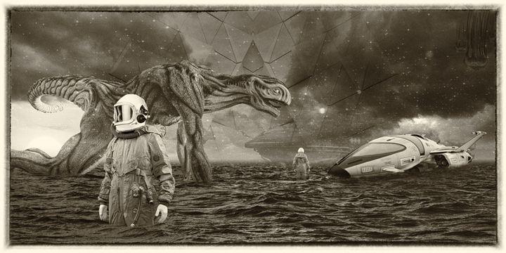 Intergalactical - David Fuentes's Art
