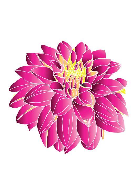 Pink flower - Delfi's gallery