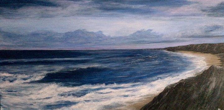 ocean sunrise - atmosphericart