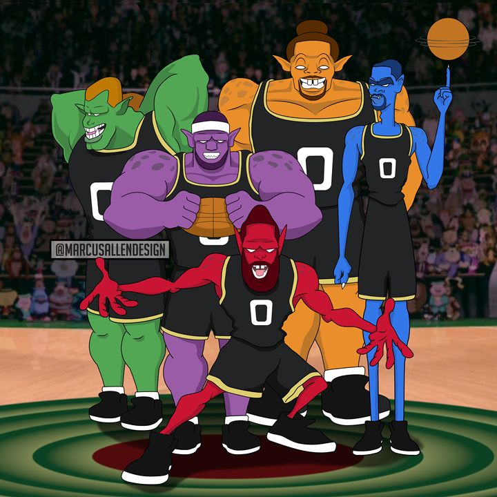 NBA - Modern Monstars - MarcusAllenDesign