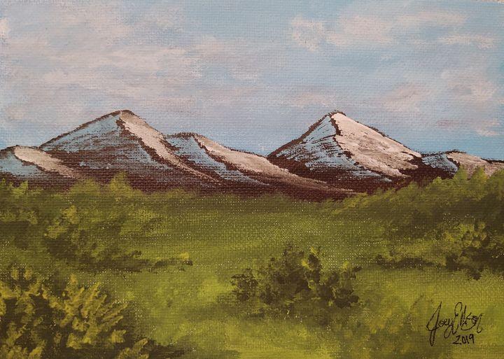 Mountain Meadow by Joey Ellison - Joey Art Live