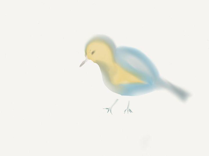 Blue bird - Barbara Marlin