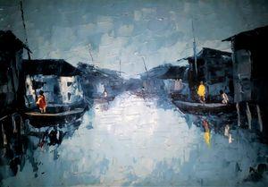 Makoko sunrise