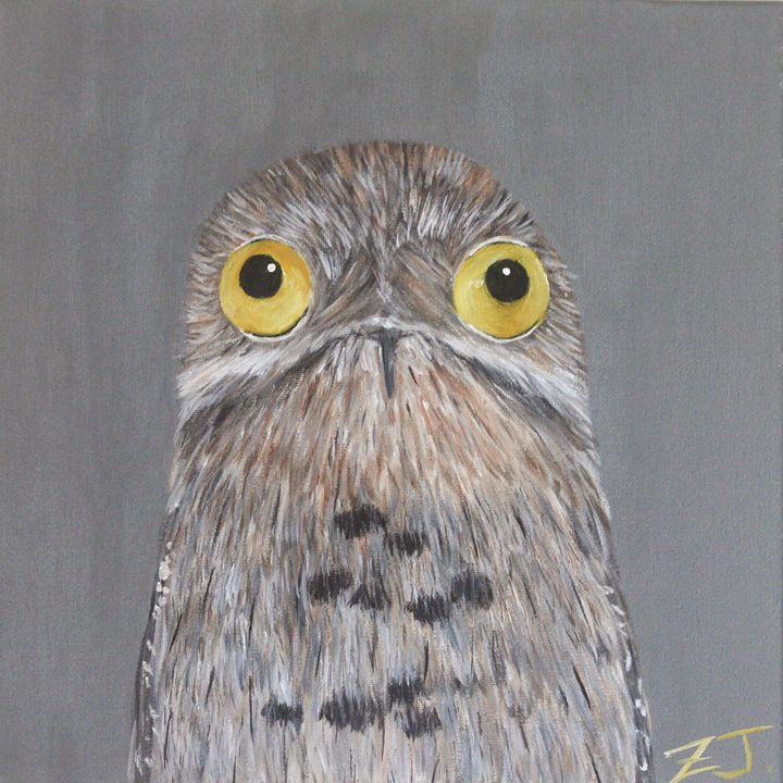 Bird Portrait - Common Potoo - Jing Zhu