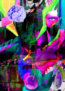 Abstract imagery inspired from psych