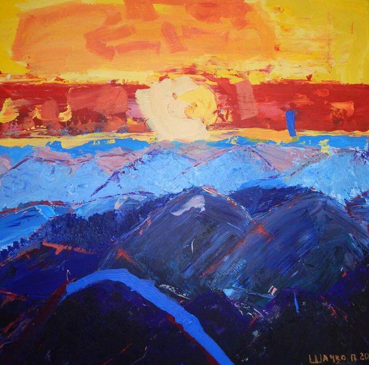 Carpathian sunset - Pavlo's Art