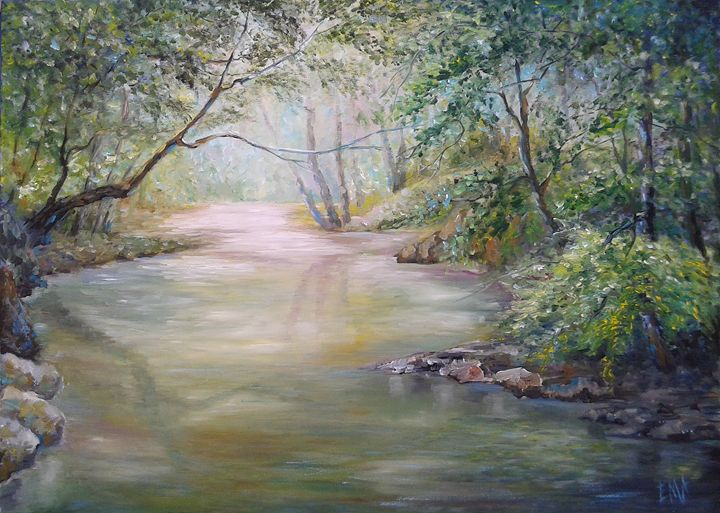 Enchanting river - Emilia Milcheva