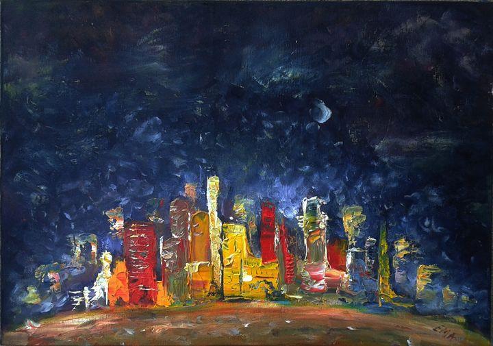 Night hour - Emilia Milcheva