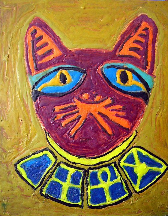egyptian cat 1977 - Criskame