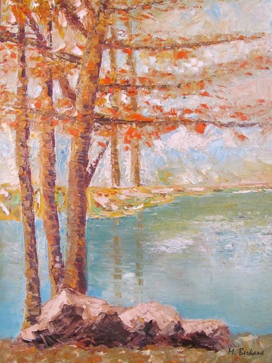 Sous bois en automne - Berkan'art