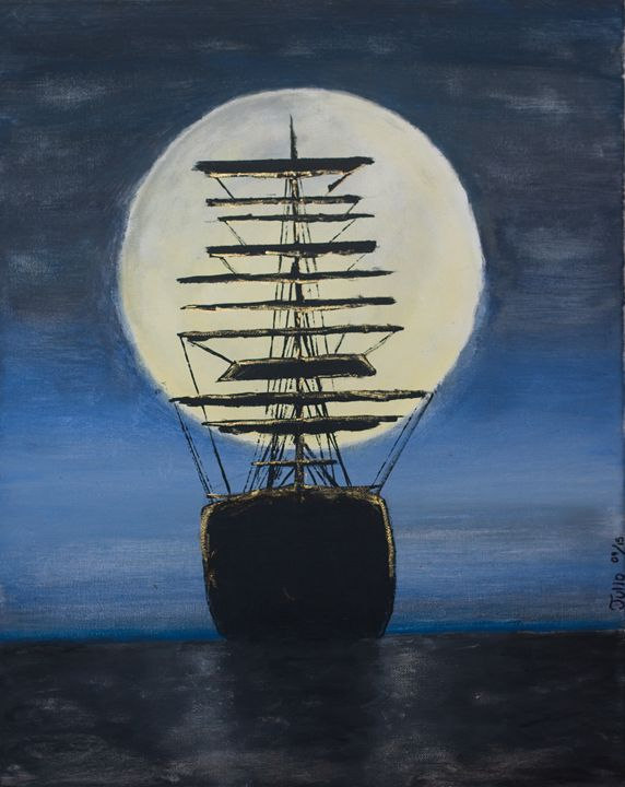 Midnight Sailing - Julio Avila