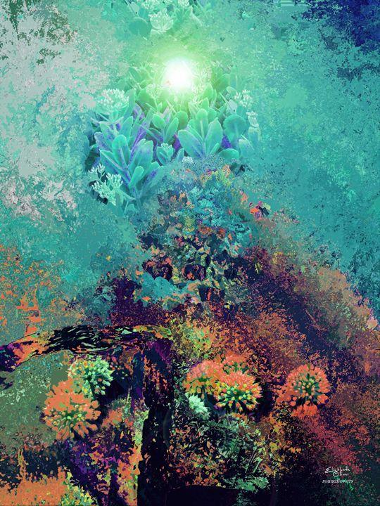 abstractroundflowers - Elizabeth Oliver muddled photography
