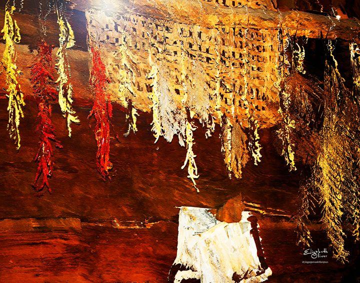 dryingpeppersandotherspices - Elizabeth Oliver muddled photography