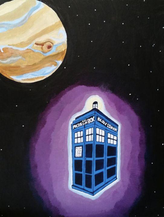 T.A.R.D.I.S.  and Jupiter - Amy Sprague