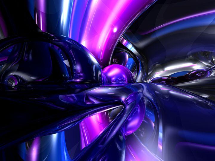 Vivid Waves Abstract - World of Alexander Butler