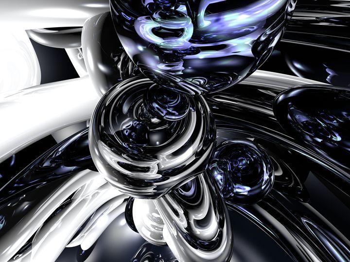 The Darkside Abstract - World of Alexander Butler