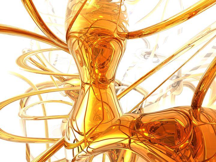 Honey Abstract - World of Alexander Butler
