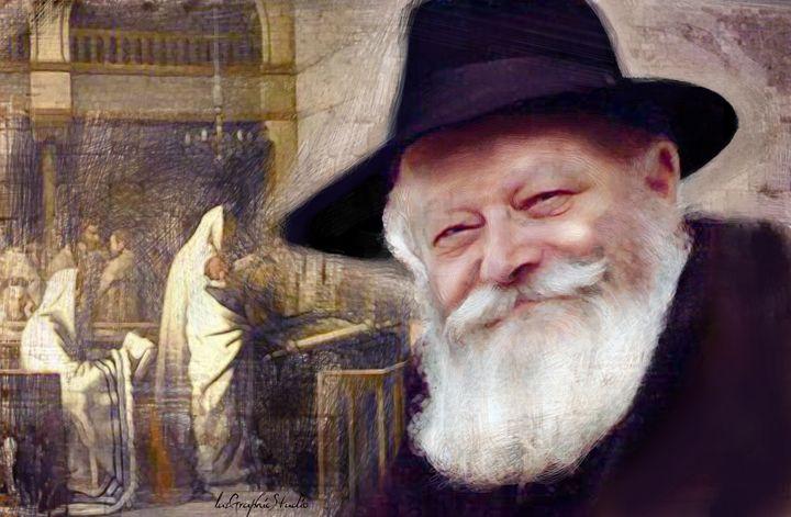 Rebbe Loubavitch - LuzGraphicStudio