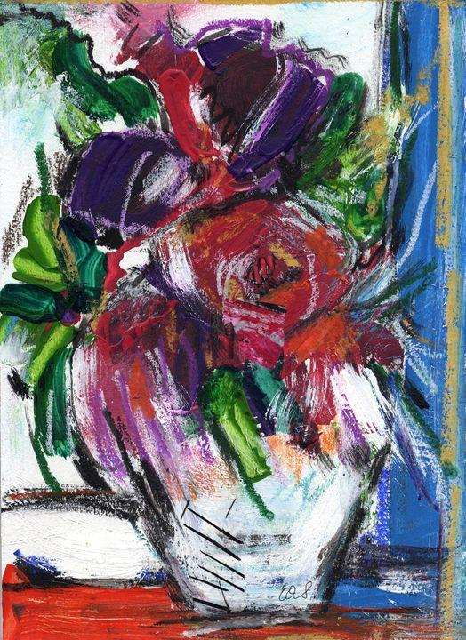 Bouquet de fleurs 1 - LuzGraphicStudio