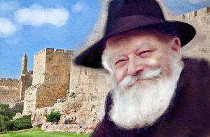 Rebbe and Salomon Temple