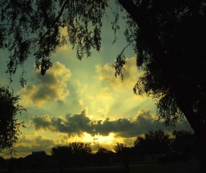 Light in clouds - Abedalrahman samara