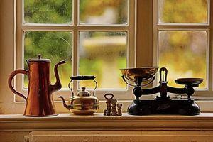 Classical still life teapot