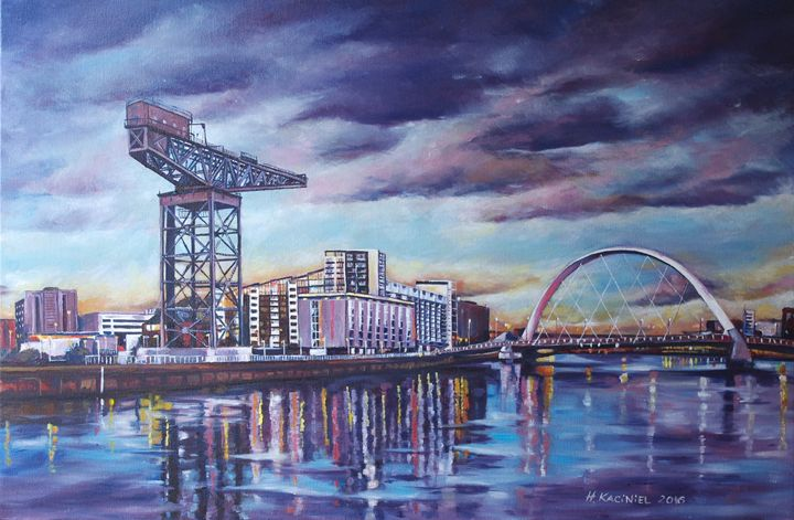 THE CHANGING FACE OF GLASGOW - Hanna Kaciniel
