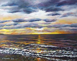 The Amber Sea