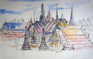 The Royal Grand Palce, Thailand
