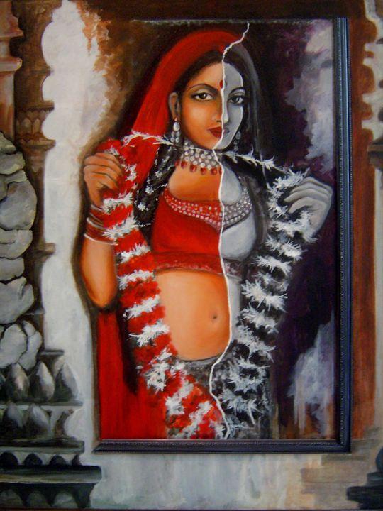 Seductress - COLOR THE CANVAS