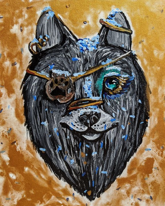 Warrior wolf - Faces Of The Endangered