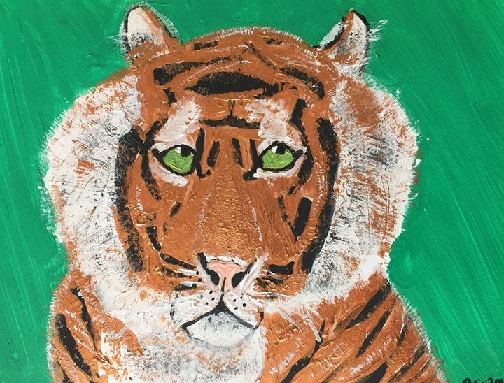 Powerful Tiger - Faces Of The Endangered