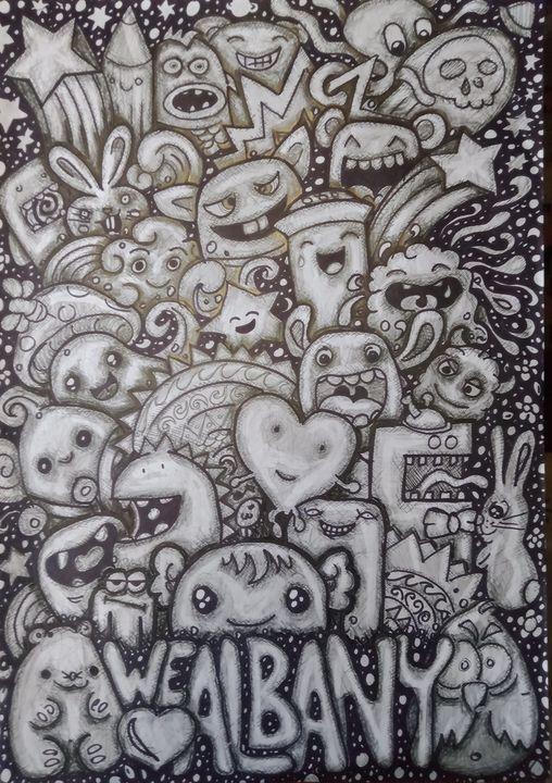 Albany doodle - Dufs.designs