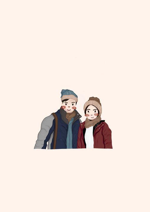 Warm couple - Byhime