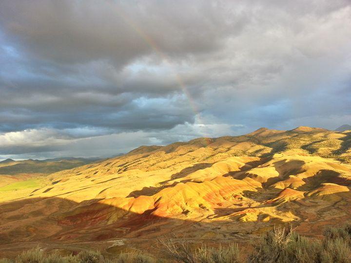 Painted Hills, Treasure of Oregon - SchennCo Images