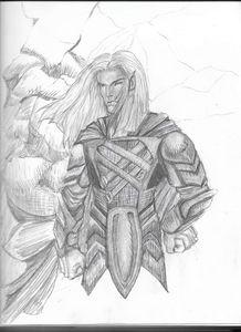Elf in Armor