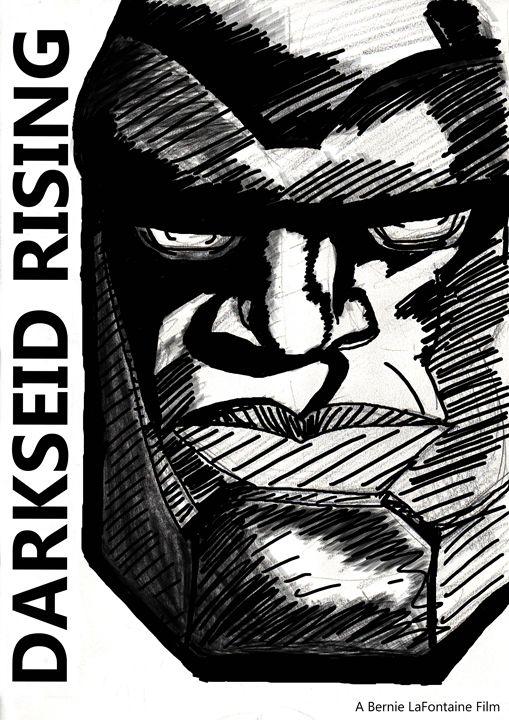 Darkseid Rising - Bernie's Art