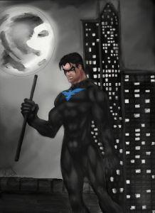 Night Wing Inspired DC Comics