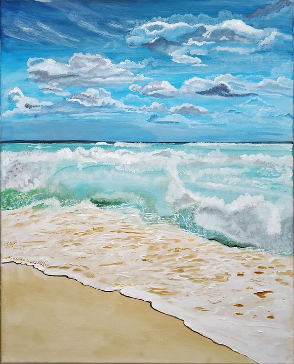 Beach Waves - Art-o-rama