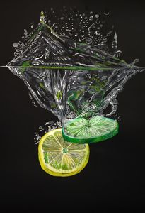 Splashing Lemons