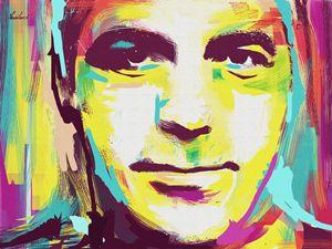 George Clooney - Ionut Nechifor ARTGallery