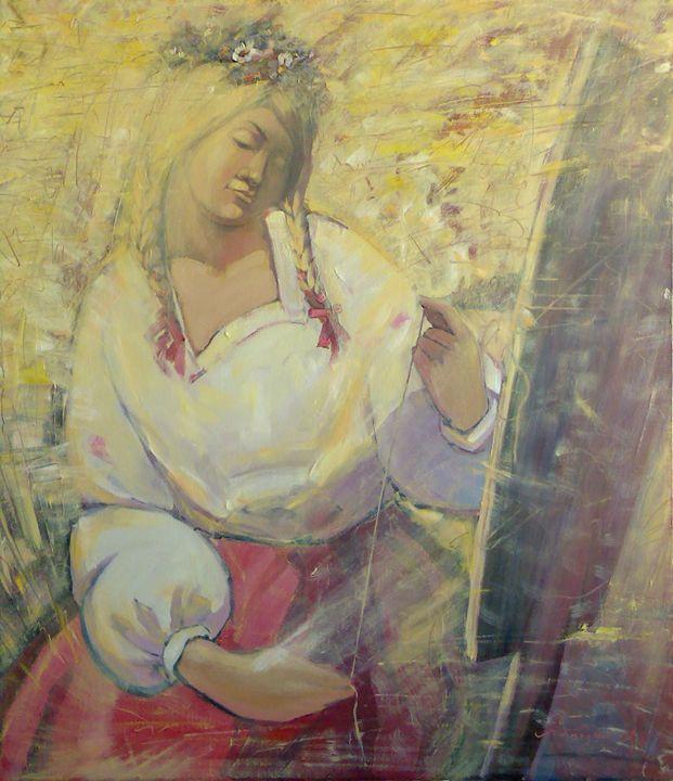 Dreaming girl - Labkouski Art