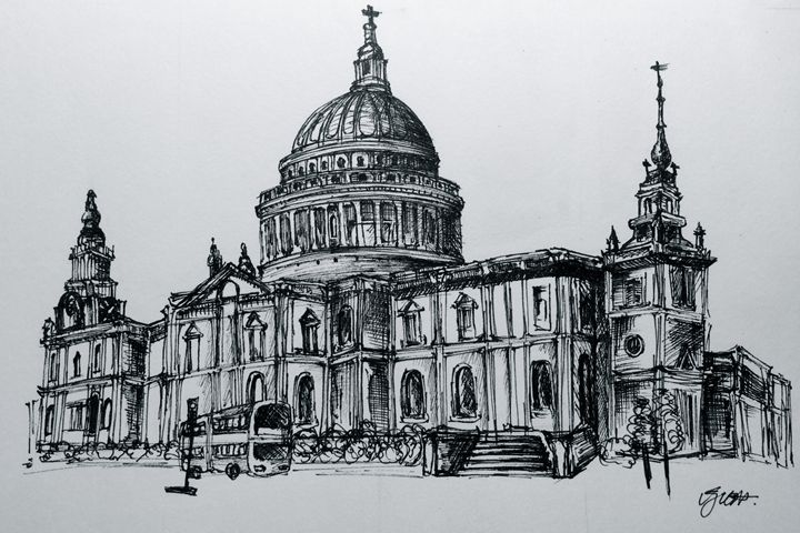 St Paul's Cathedral - Charlotte XU